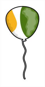 Patrick's Day Balloon