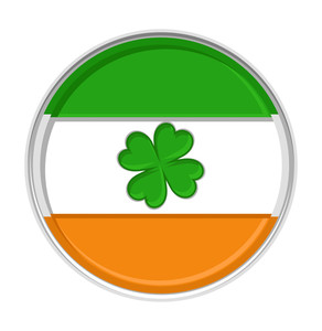 Patrick's Day Clover Coin
