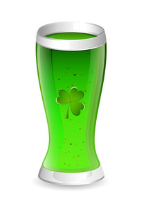 Patrick's Day Drink Glass