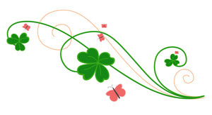 Patrick's Day Floral Design