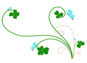 Patrick's Day Floral Vector Designs