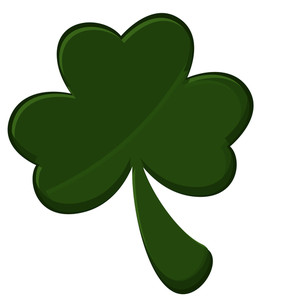 Patrick's Day Shamrock Icon