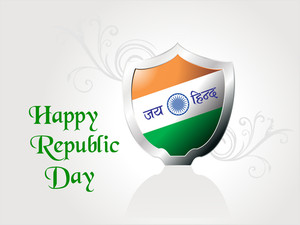 Patriotic Illustration For Republic Day