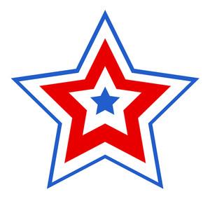 Patriotic Star Design