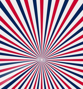 Patriotic Sunburst Backdrop