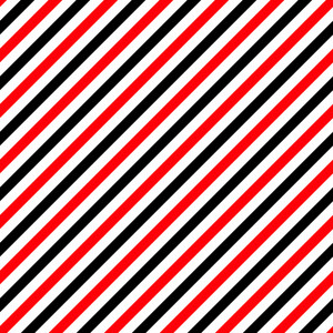 Pattern Of Black, Red, And White Diagonal Stripes On Minnie Mouse Paper