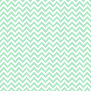 Pattern Of Mint Blue And White Chevrons