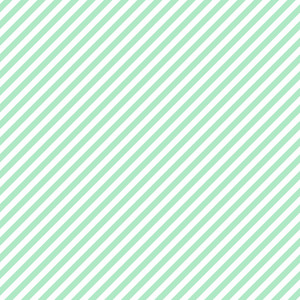 Pattern Of Mint Blue And White Diagonal Stripes