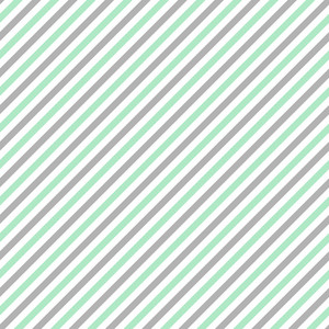 Pattern Of Mint Blue, White, And Grey Diagonal Stripes