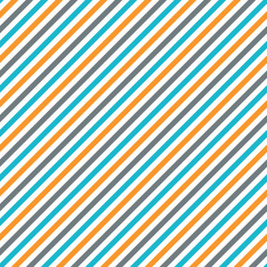 Pattern Of Orange, Aqua, White, And Purple Diagonal Stripes On Dinosaur Paper
