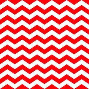 Pattern Of Red And White Chevrons On Minnie Mouse Paper