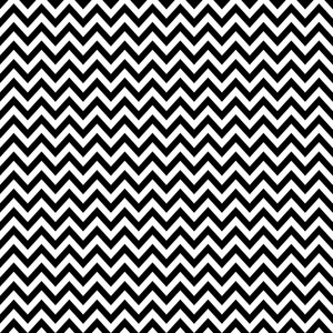 Pattern Of White And Black Chevron