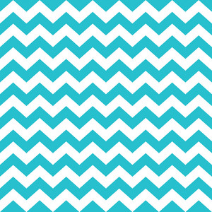 Pattern Of White And Blue Chevrons On Monster Paper