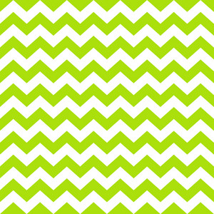 Pattern Of White And Green Chevrons On Monster Paper