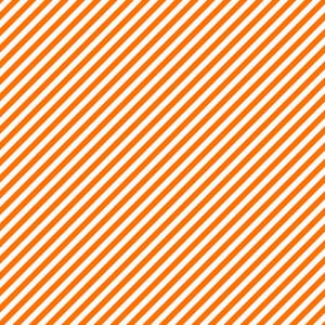 Pattern Of White And Orange Diagonal Stripes