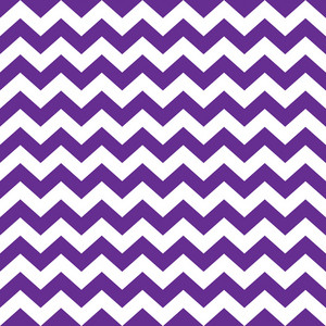 Pattern Of White And Purple Chevrons On Monster Paper