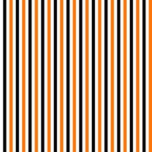 Pattern Of White, Orange, And Black Stripes