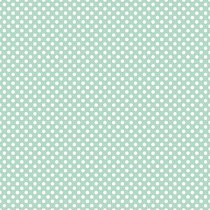 Pattern Of White Polka Dots On A Pastel Blue Background