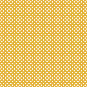 Pattern Of White Polka Dots On A Pastel Yellow Background