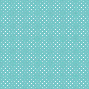 Pattern Of White Polka Dots On Blue Hot Air Balloon Paper