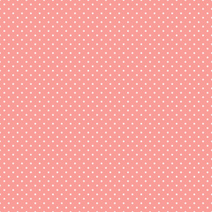 Pattern Of White Polka Dots On Pink Hot Air Balloon Paper