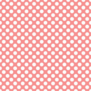 Pattern Of White Polka Dots On Pink Mickey Paper