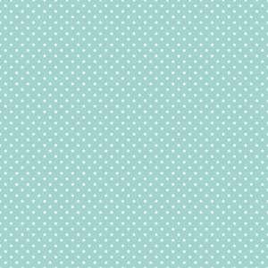 Pattern Of White Stars On A Mint Blue Background