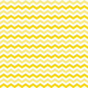 Pattern Of Yellow And White Chevrons On Mickey Paper