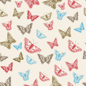 Pattern Vector Element With Butterfly