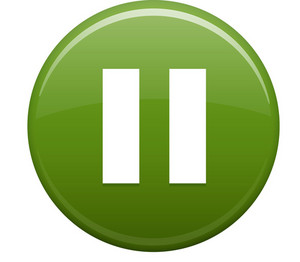Pause Green Circle