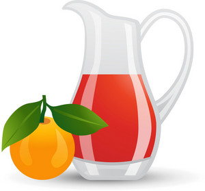 Peach Juice Pitcher Icon