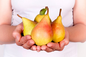 Pears In Hands