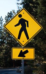 Pedestrian Crossing Signboard