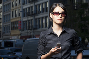 Pedestrian in urban environment