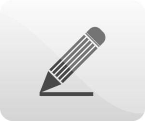Pencil Icon Button