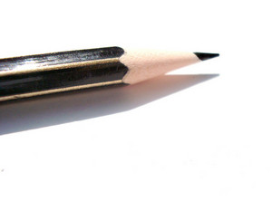 Pencil With Shadow