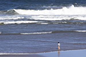 People At Ocean Beach