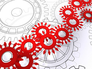 People Cogs As Concept