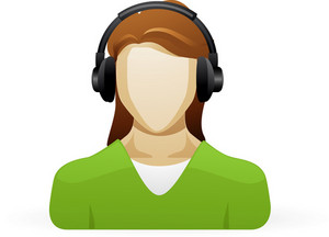 Person Listening To Music Lite Music Icons