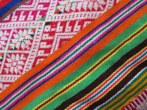 Peruvian Hand Made Woolen Fabric