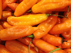 Peruvian Yellow Chili Pepper