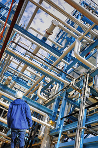 petrochemical industry and pipelines