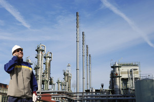 petrochemical oil and gas refinery