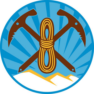 Pick Axe Rope Mountain