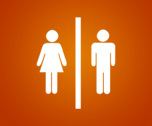 Pictograms Orange Background