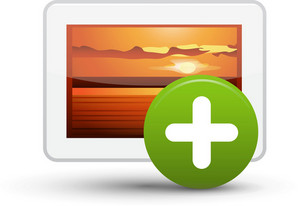 Picture Add Lite Media Icon