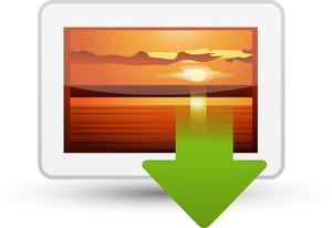 Picture Download Lite Media Icon