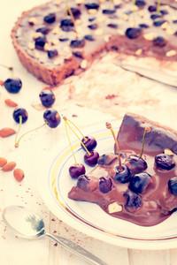 Piece Of Chocolate Tart
