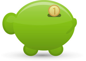Pig Money Lite Ecommerce Icon