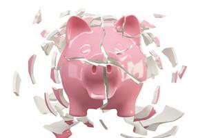 Piggy Bank Crash